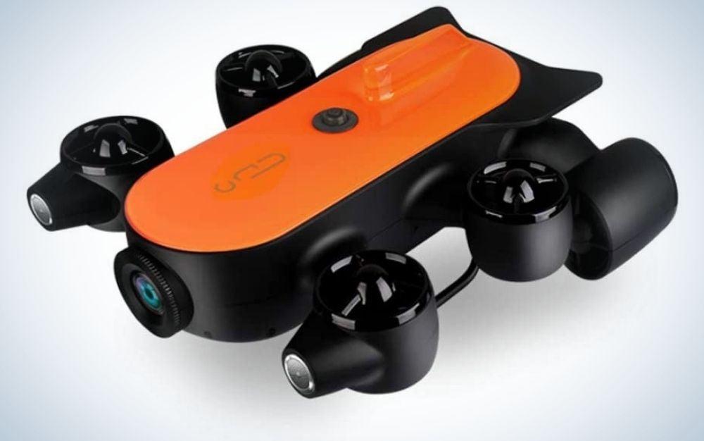 The Geneinno Total Underwater Drone is the best tethered underwater drone.