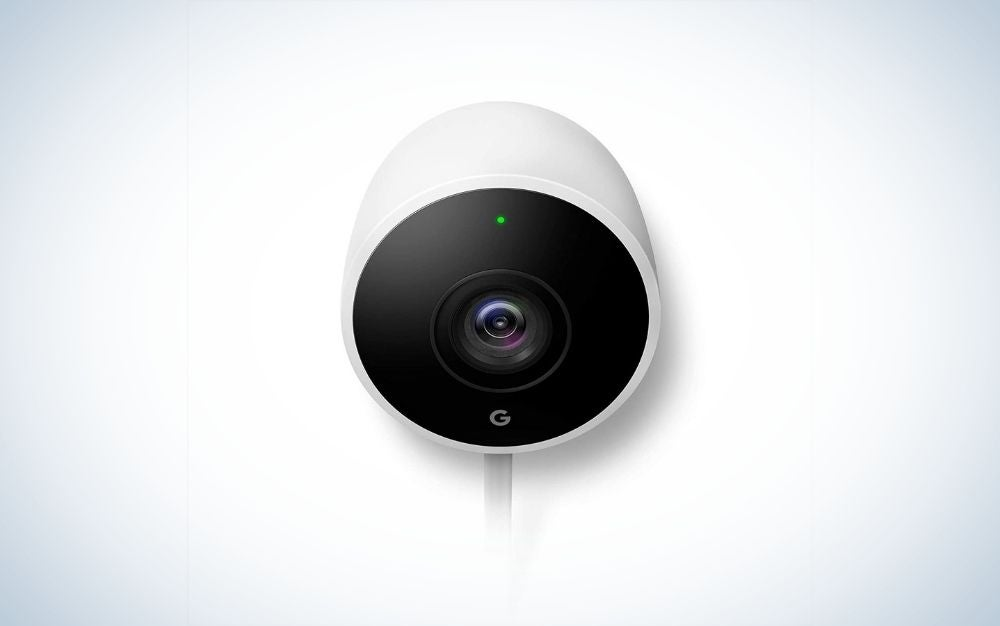 The Google Nest Cam Outdoor is the best outdoor security camera system for DIYers.