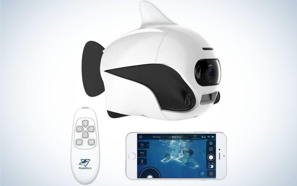 The RoboSea Bike is the best underwater drone for kids.