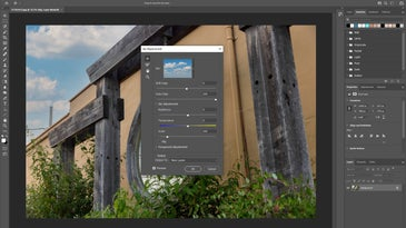 photoshop sky replacement tool
