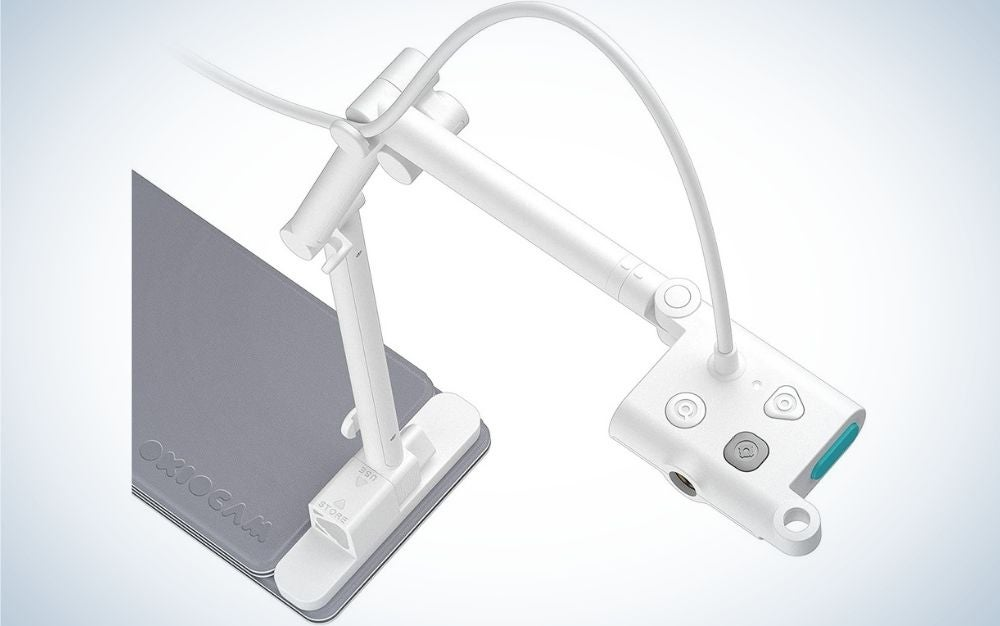 The OKIOLABS OKIO CAM S 2-in-1 is the best Document Camera on a budget.