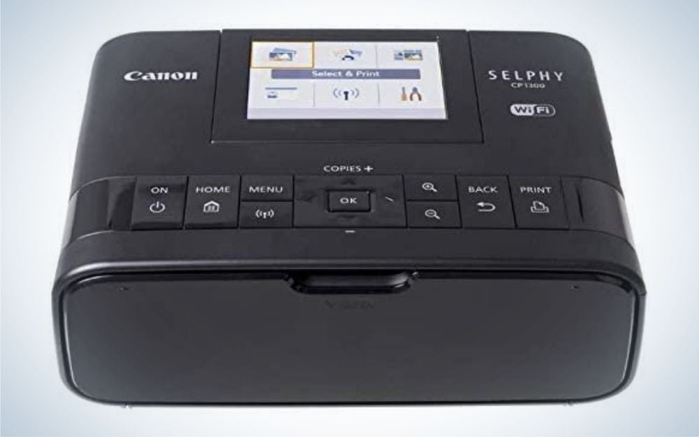 The Canon Selphy CP1300 Compact Photo Printer is the best portable printer.