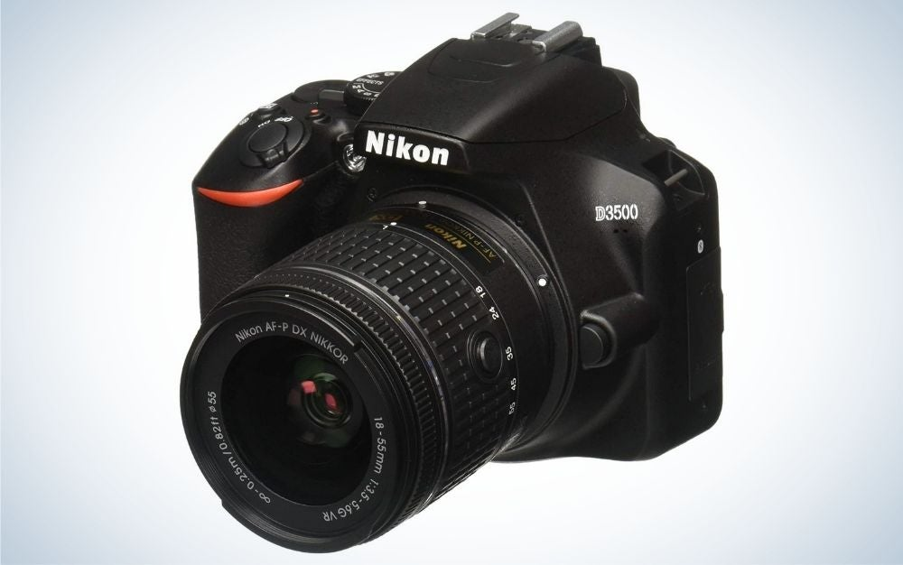 The Nikon D3500 is the best camera for beginners.