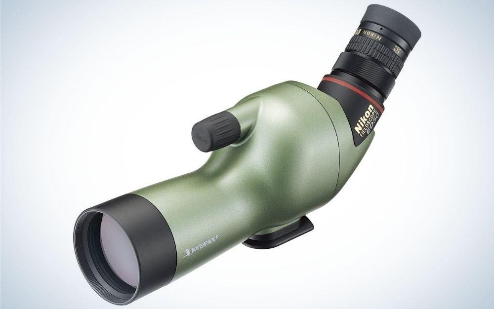 The Nikon Fieldscope ED50 is the best spotting scope for photographers.