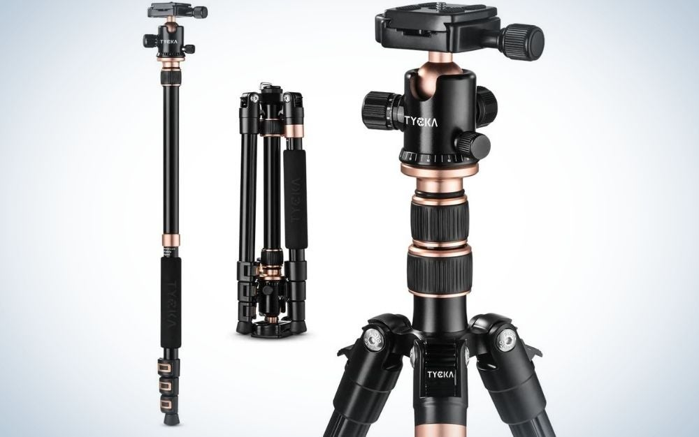 The TYCKA Rangers Travel Tripod is the best tripod for beginners.