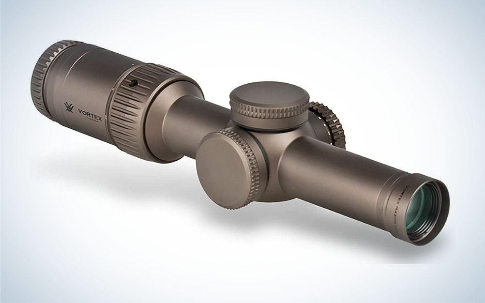 The Vortex Optics Razor HD Gen II-E is the best spotting scope for hunters.