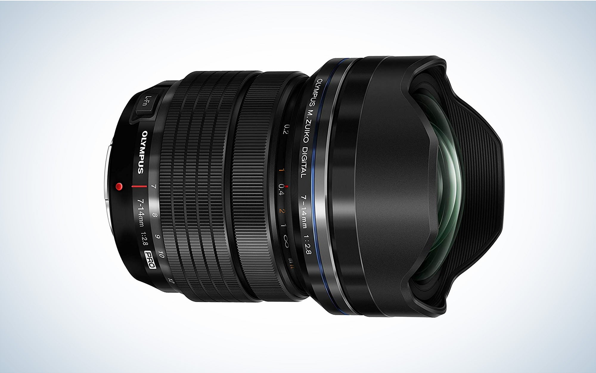 Olympus wide-angle zoom lens is the best wide angle lens.