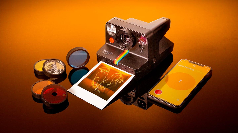Polaroid Now+ camera black