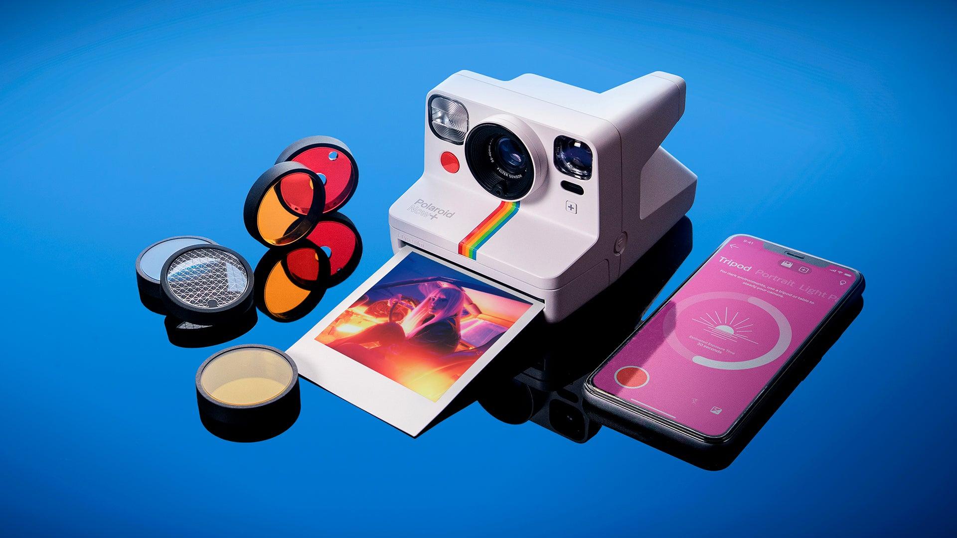 Polaroid Now+ camera