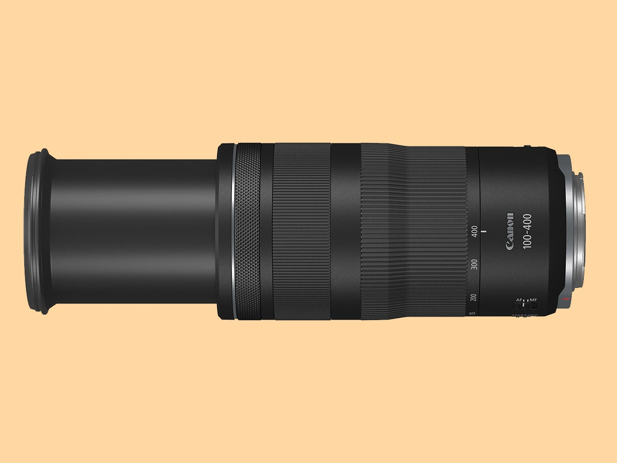Canon RF 100-400mm F5.6-8 IS USM zoomed