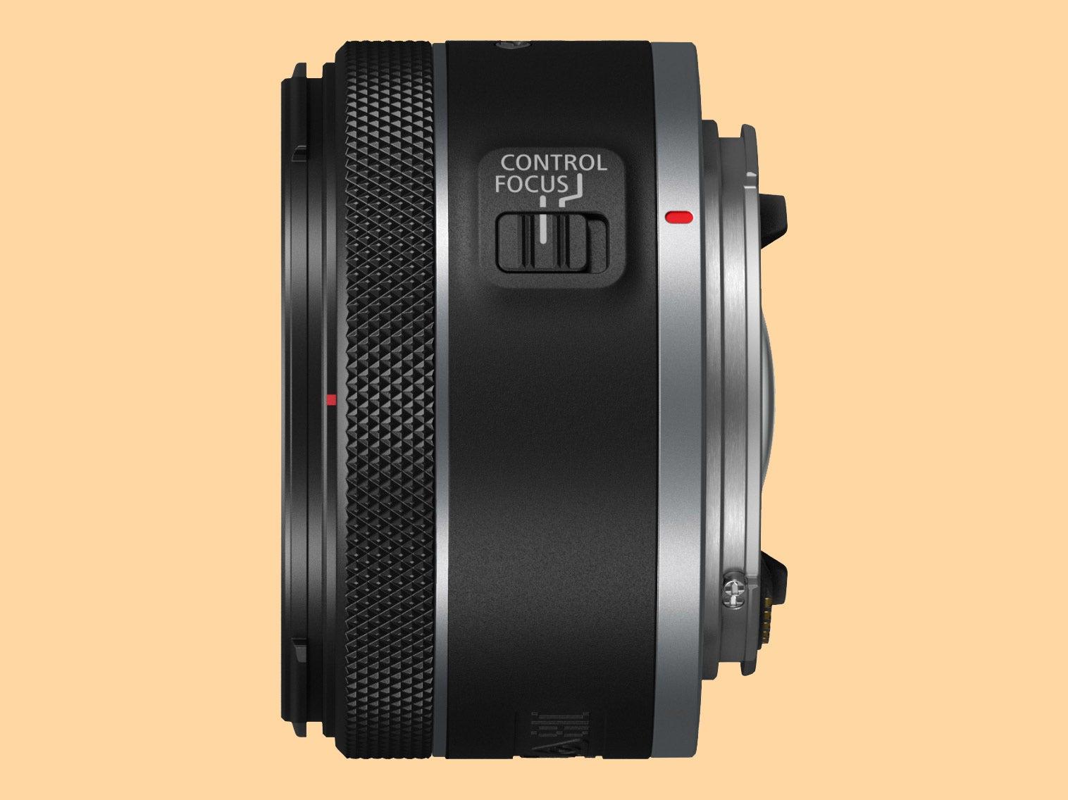 Canon RF 16mm F2.8 STM side