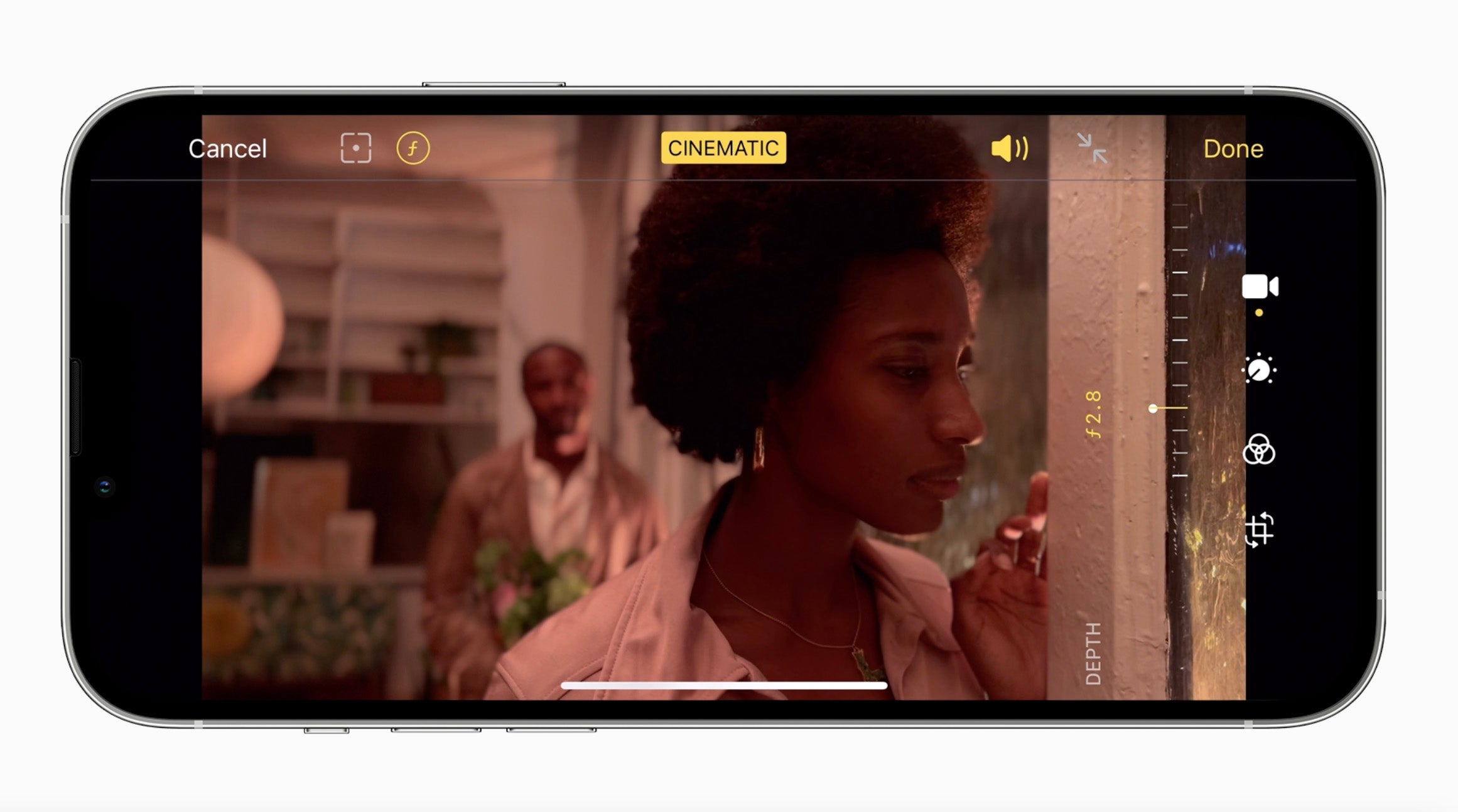 Apple's new cinematic mode