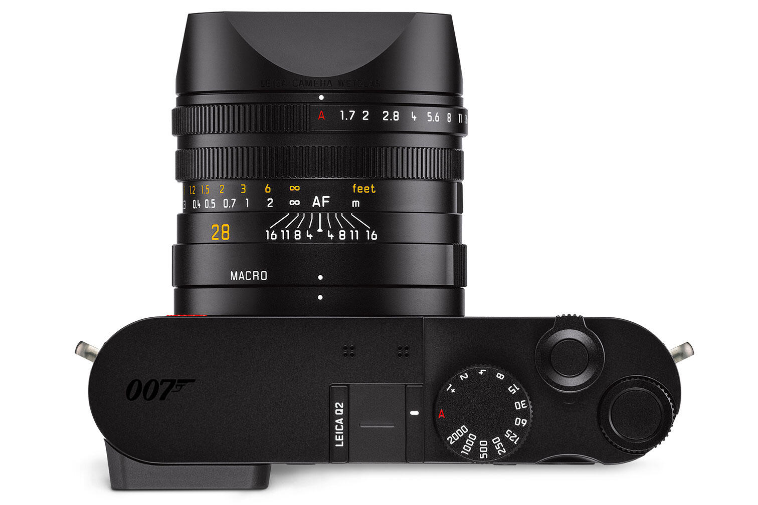 """Top of Leica Q2 """"007"""" edition"""
