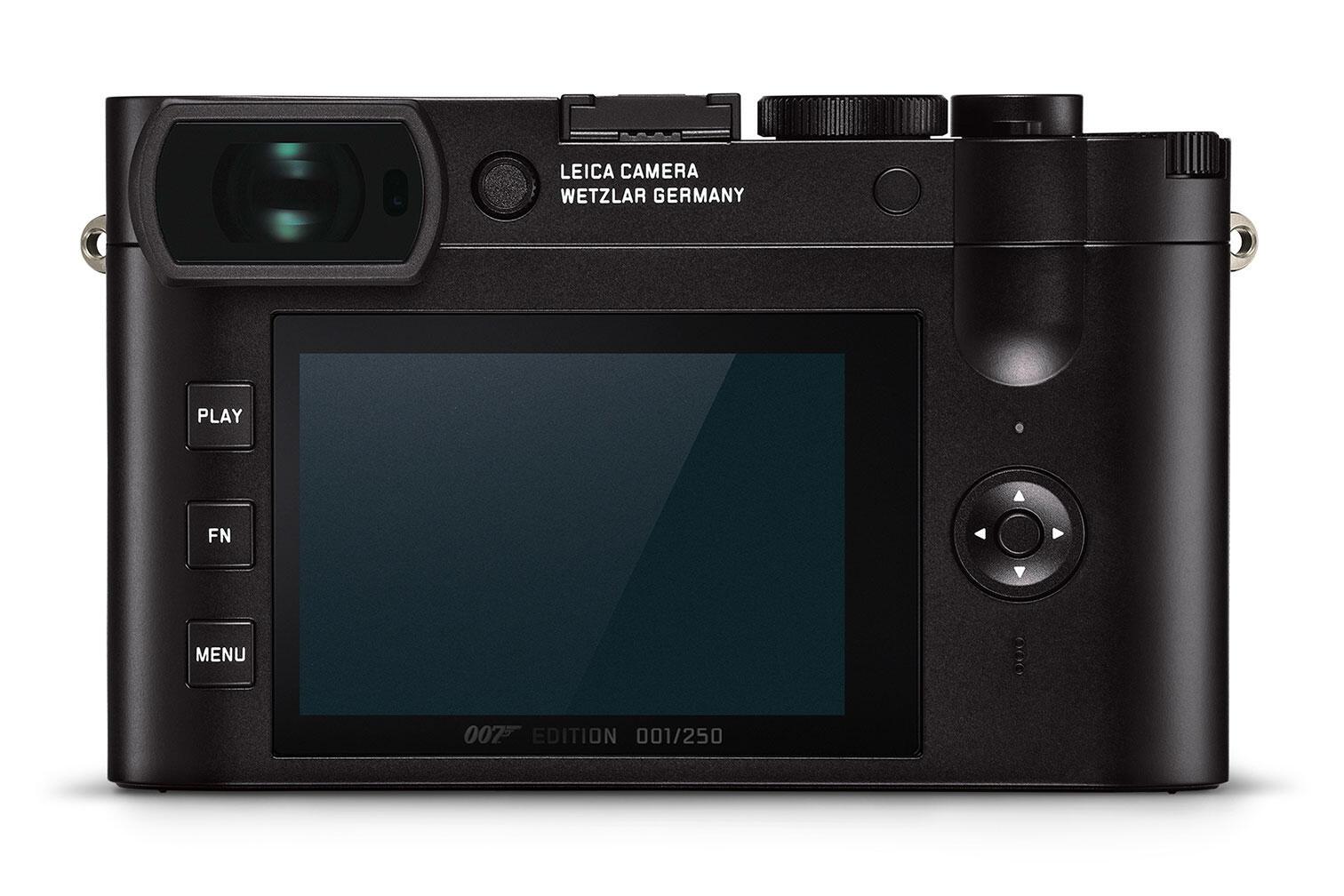 "Rear of Leica Q2 ""007"" editing"