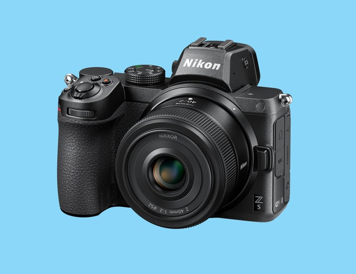 Front of the Nikon Z 40mm f/2