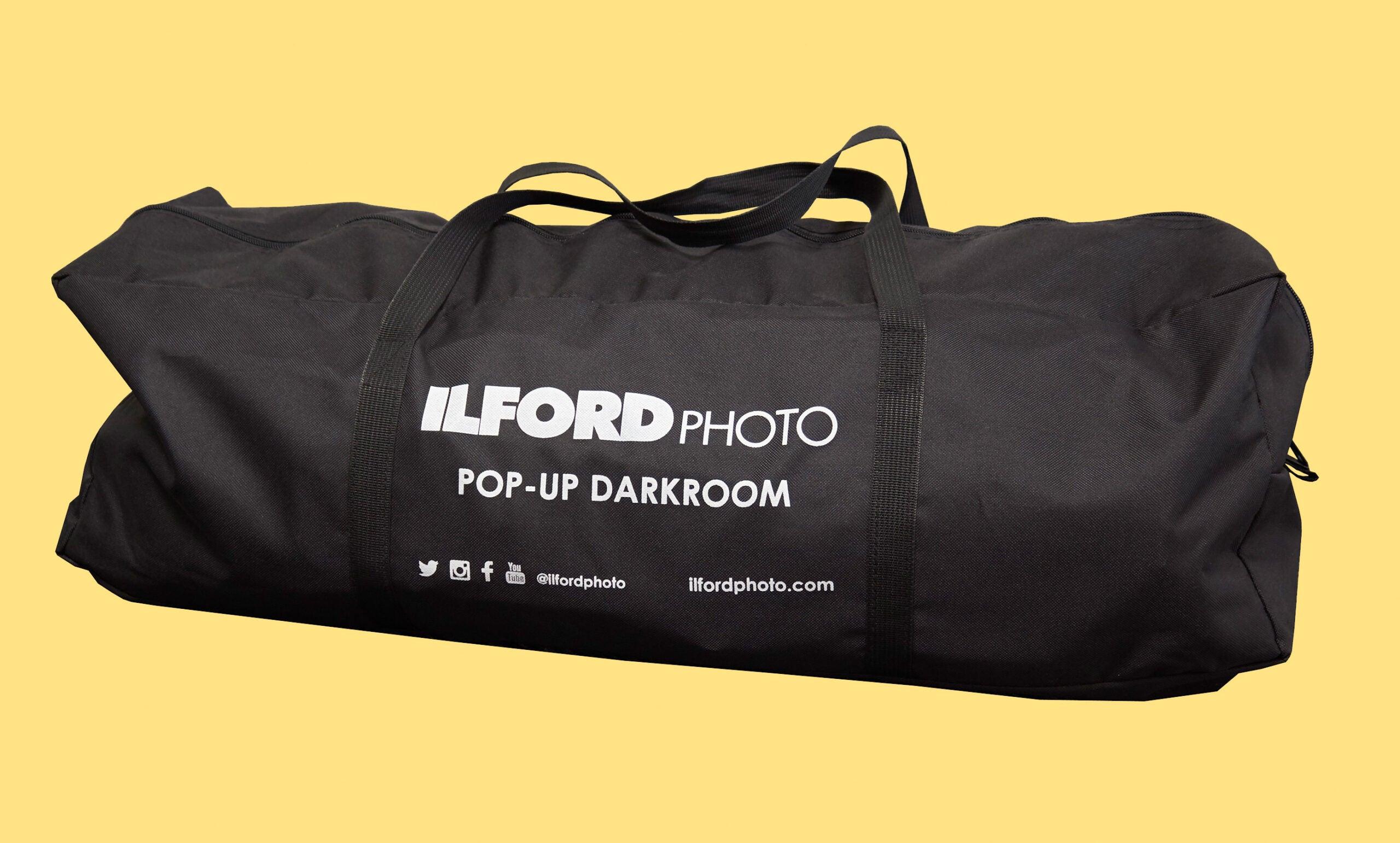 Ilford pop-up darkroom carry bag