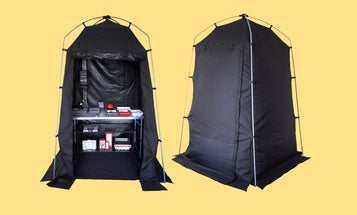 Ilford's new 'Pop-Up Darkroom' turns any space into a photo lab
