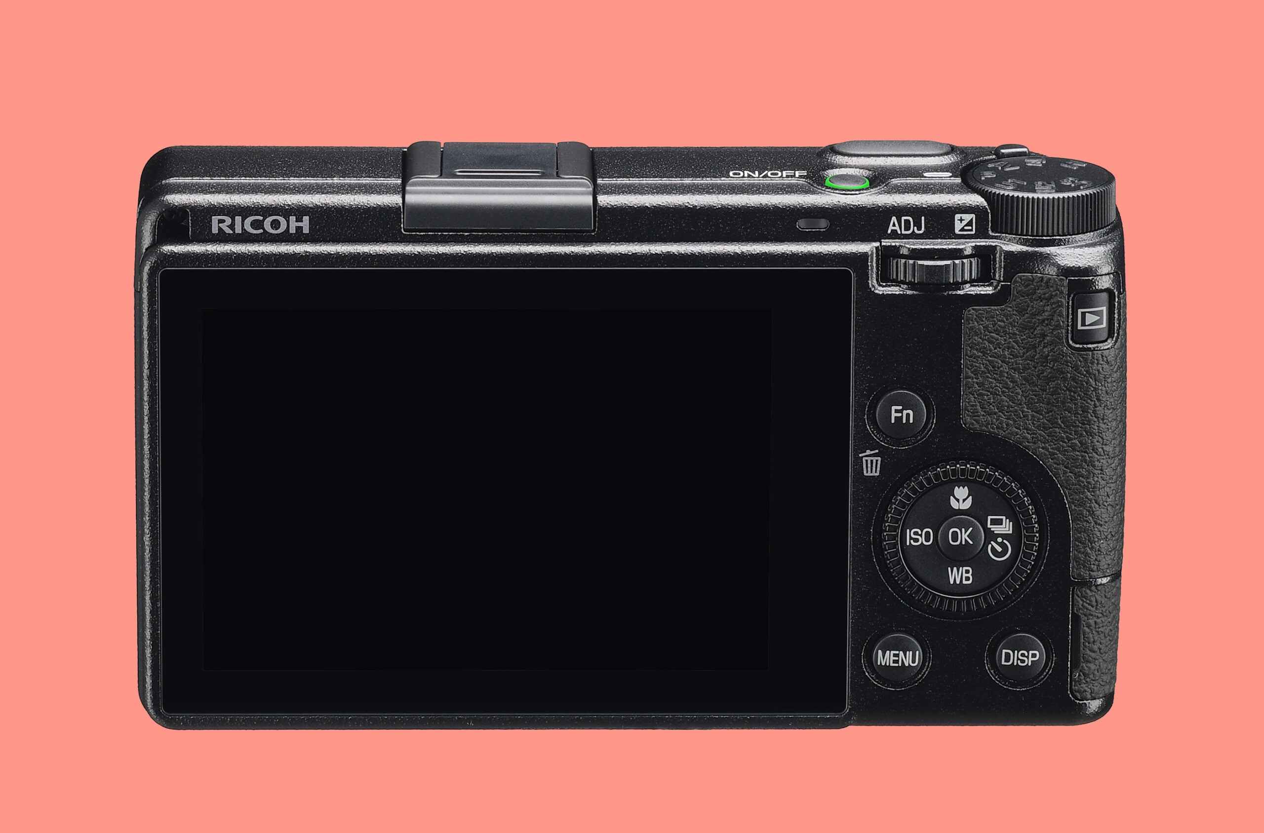 The rear of the new Ricoh GR IIIx