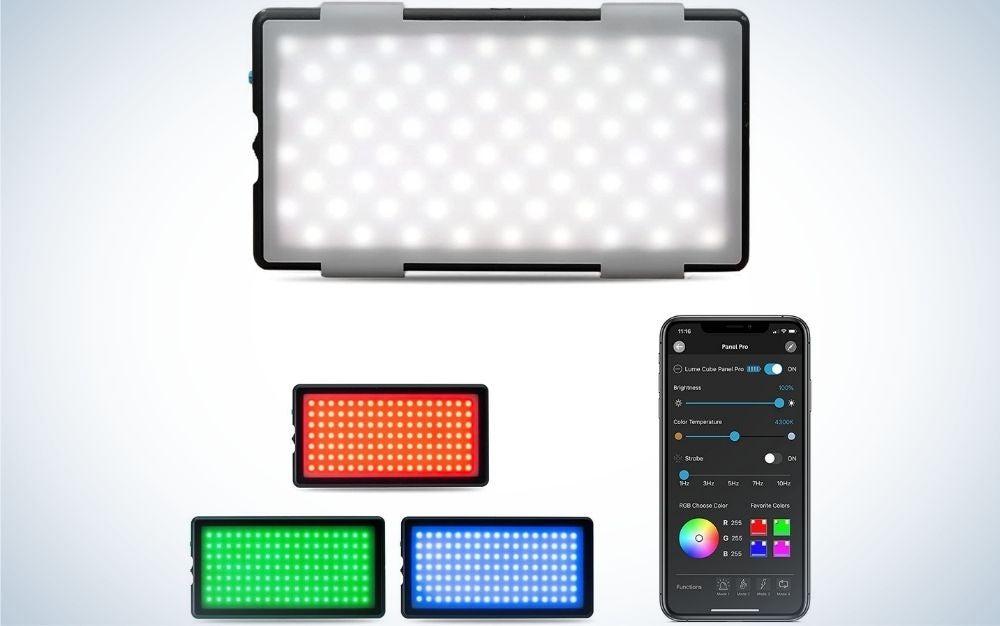 The Lume CubePanel Pro is the best portrait lighting kit.