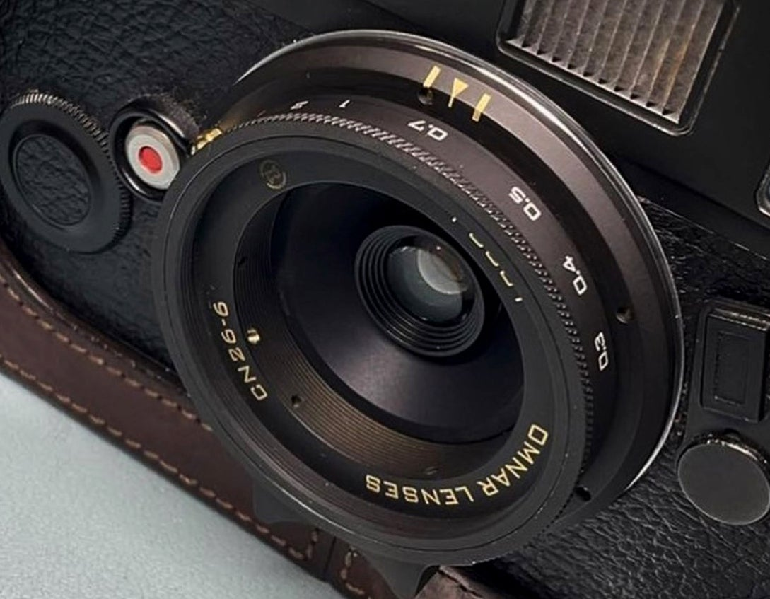 The new Omnar CN26-6 on a Leica M6 body