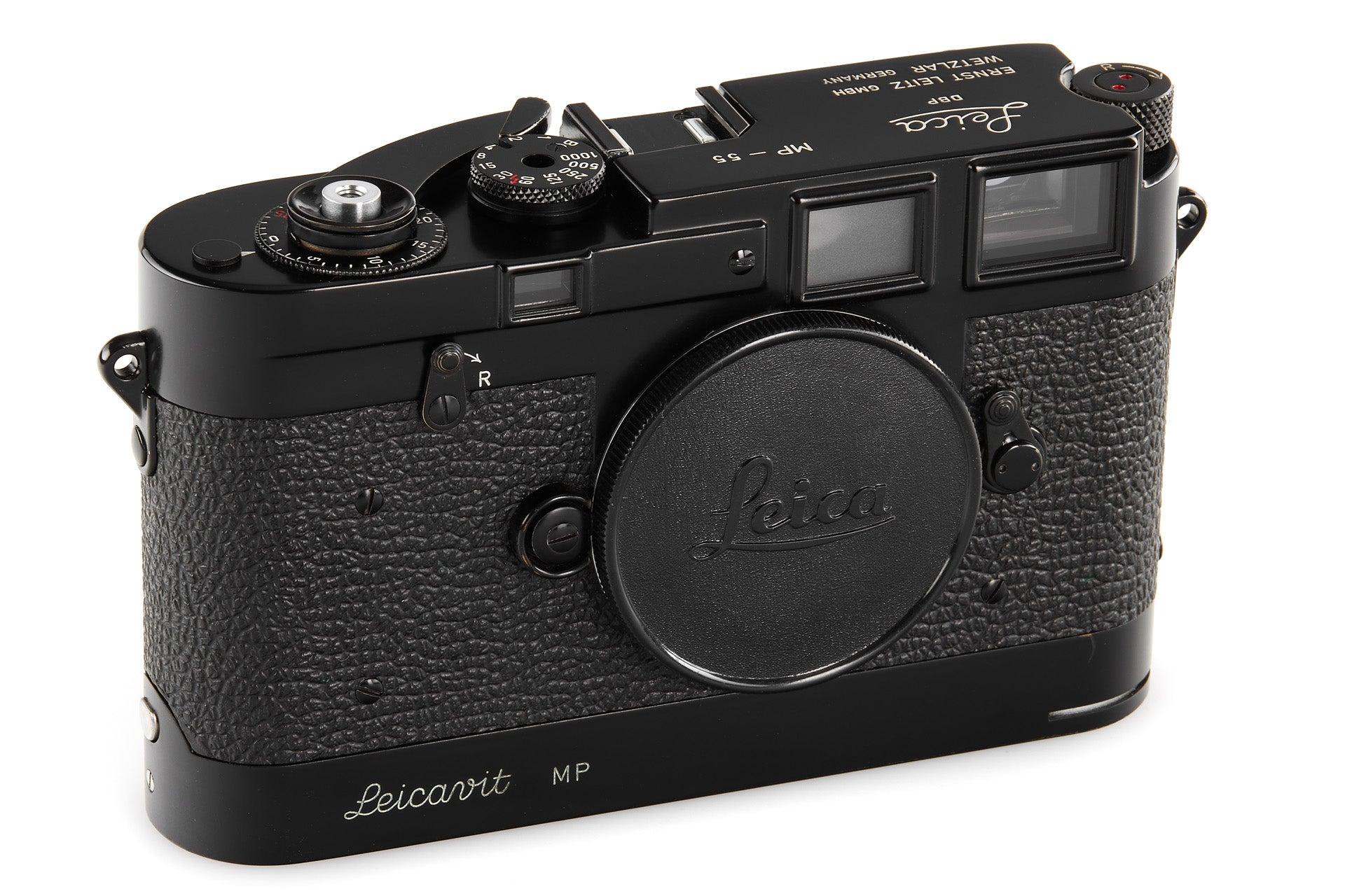 The Leica MP black paint no.55