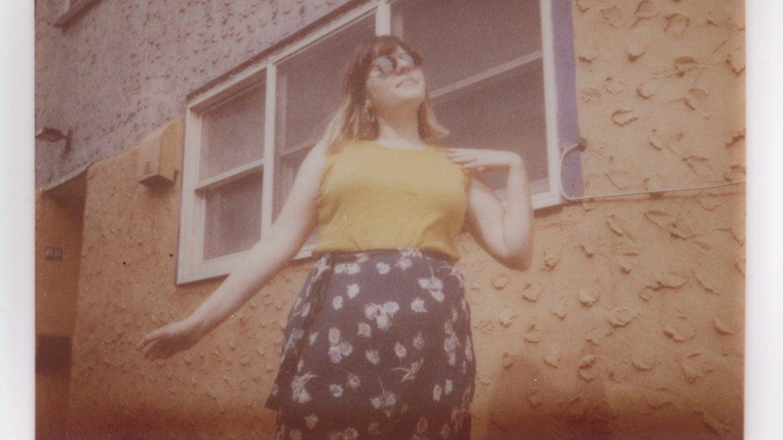 A sample photo shot with ultra rare Kodak Instant film.