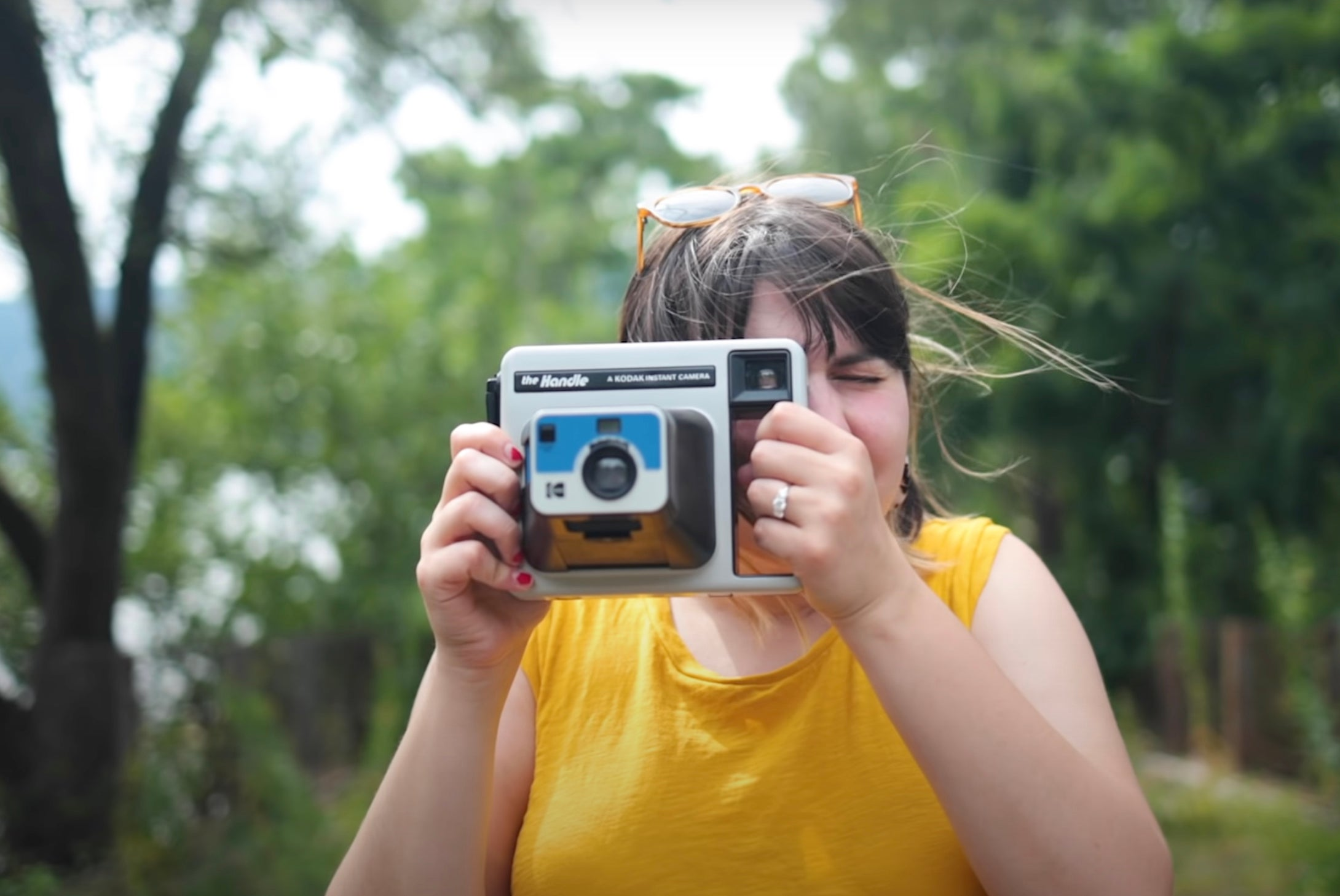 The Kodak Handle instant camera
