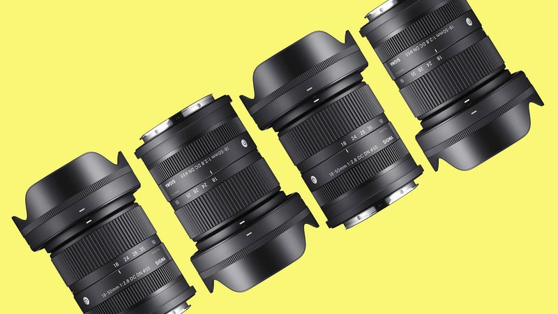 The Sigma 18-50mm f/2.8 DC DN is a lightweight zoom for APS-C mirrorless cameras