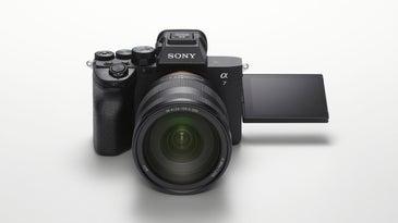 Sony A7 IV mirrorless camera flipped screen