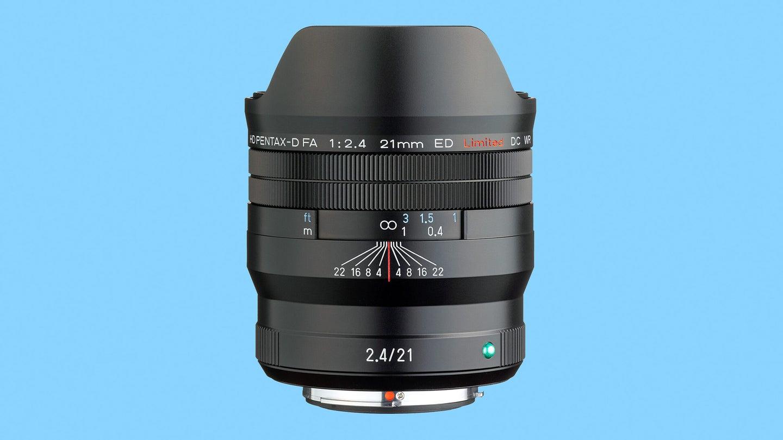 Meet Pentax's new 21mm f/2.4 Limited lens